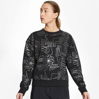 Nike Sportswear Icon Clash Sweatshirt Damen Schwarz