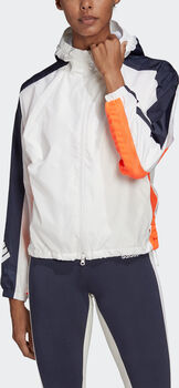 ADIDAS W.N.D. Trainingsjacke Damen Weiss