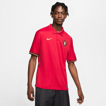 Nike Portugal 2020 Stadium Home Maillot de football Hommes Rouge
