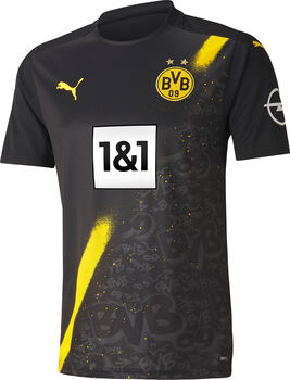 Puma BVB 20/21 Away Replica Fussballtrikot  Herren Schwarz