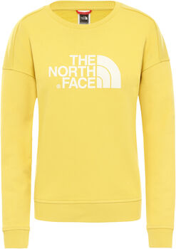 The North Face DREW PEAK CREW-EU Pullover Damen Gelb