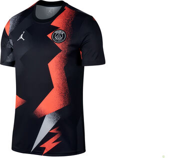Nike PSG PM Away Trainingsshirt Herren Schwarz