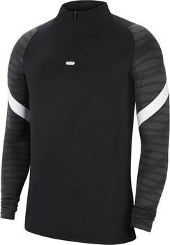 Nike Dri-FIT Strike Fussballshirt langarm Herren Schwarz