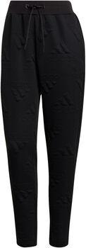 adidas AEROREADY Jacquard Logo pantalon Femmes Noir