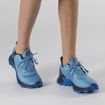 Salomon ALPHACROSS BLAST CSWP chaussure de randonnée Bleu