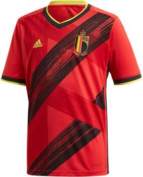 adidas Belgien Home Replica Fussballtrikot Rot