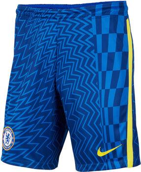 Nike FC Chelsea Home Fussballshorts Herren Blau