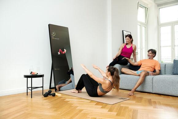 Miroir de fitness