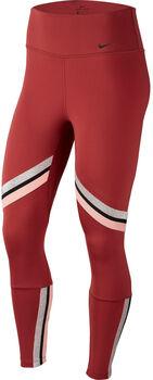 Nike One 7/8 Thights Damen Rot