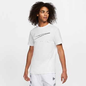 Nike Dri-FIT Trainingsshirt Herren Weiss