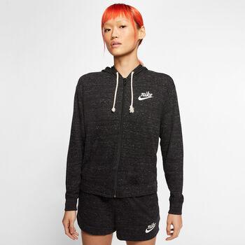 Nike Sportswear Gym Vintage Hoody Femmes Noir