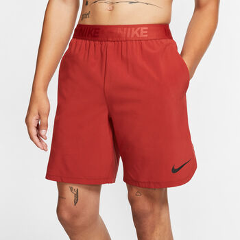 Nike Flex 8 Inch Fitnessshorts Herren Rot