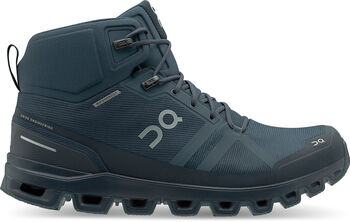 On Cloudrock Waterproof Wanderschuh Herren Blau