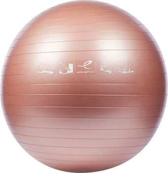 ENERGETICS Ballon de fitness Rose