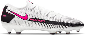 Nike Phantom GT Pro FG chaussure de football Hommes Blanc