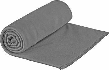Sea to Summit Pocket Towel Reisehandtuch Grau