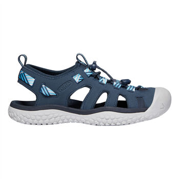 KEEN Solr Sandal Damen Blau