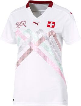 Puma SFV Schweiz Nati Away Replica Fussballtrikot Damen Weiss