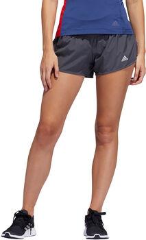 """adidas 3"""" RUN IT 3S Shorts de running Femmes Gris"""
