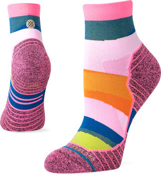 Stance Mix it up Quarter Laufsocken Damen Pink