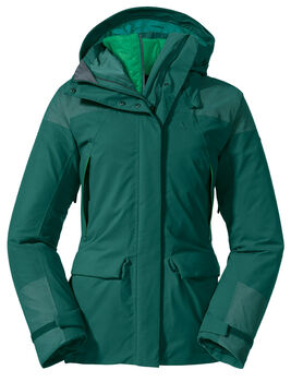 SCHÖFFEL 3in1 Parka Roraima veste de randonnée Femmes Vert