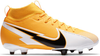 Nike JR SUPERFLY 7 ACADEMY FG/MG chaussure de football  Orange