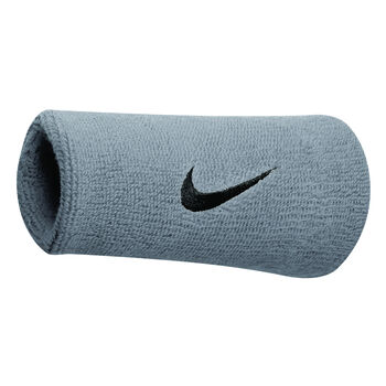 Nike Accessoires Doublewide Schweiss-Armband Grau