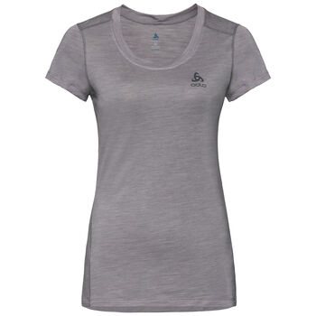 Odlo Natural + Light Baselayer T-Shirt Femmes Gris