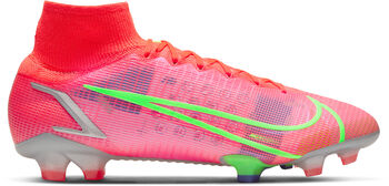 Nike Mercurial SUPERFLY 8 ELITE FG chaussure de football Rouge