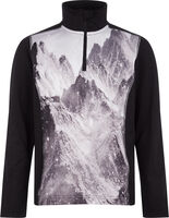 Daniston Rollkragen Skishirt langarm