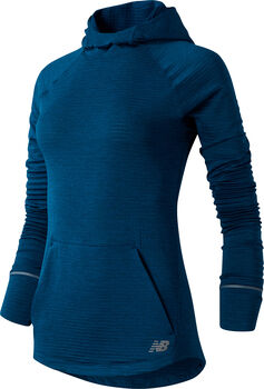 New Balance Heat Grid Hoody Damen Blau