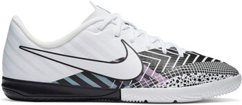 Nike Capor 13 Academy MDS Chaussures de football Indoor Garçons Blanc