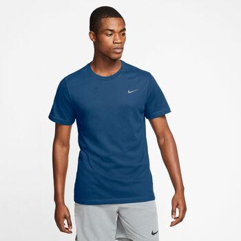 Nike Dri-FIT Trainingsshirt Herren Blau