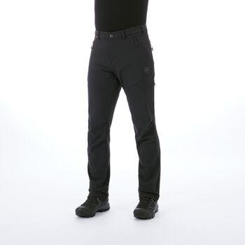 MAMMUT Winter Softshell pantalon de randonnée  Hommes Noir