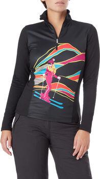 McKINLEY Ganiston Langarm-Shirt Damen Schwarz