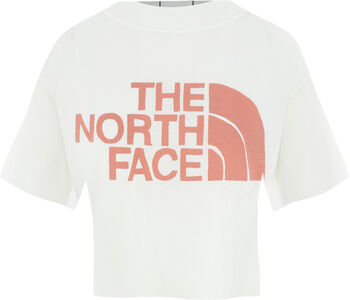 The North Face CROPPED T-Shirt Damen Weiss