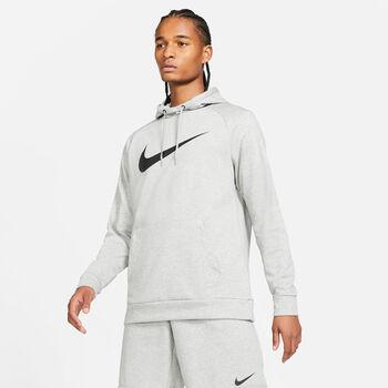 Nike Dri-FIT Hoody Hommes Gris