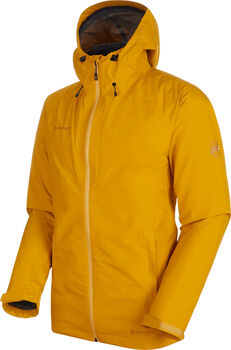 MAMMUT Convey 3 in 1 Hooded Hardshell-Jacke Herren Gold