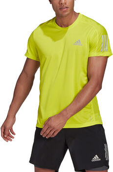 adidas OWN THE RUN Laufshirt Herren Gelb