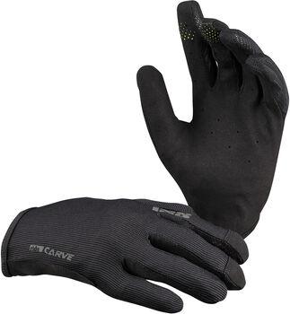 iXS Carve Bike Handschuhe Schwarz