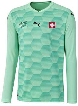 Puma SFV Schweiz Nati GK Fussballtrikot langarm Grün