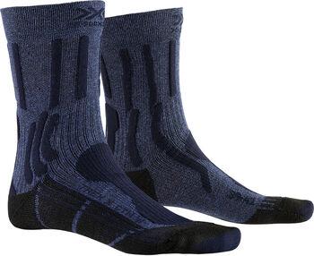 X-Socks TREK X COTTON Wandersocken Herren Blau