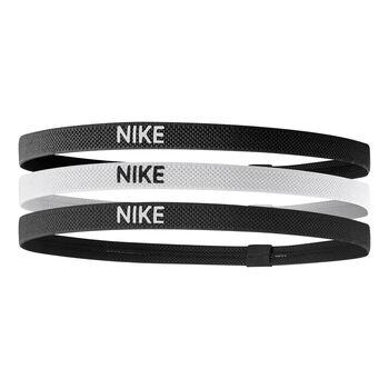 Nike Accessoires 3er Pack Haarbänder Schwarz
