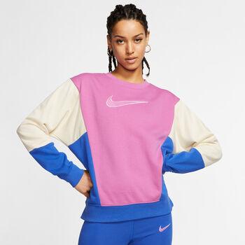 Nike Sportswear Crew Langarmshirt Damen Pink