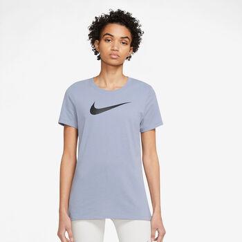 Nike Dri-FIT Crew T-Shirt Damen Violett