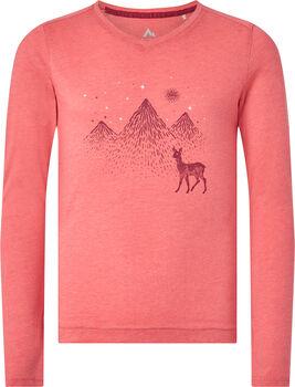 McKINLEY Borra T-Shirt L/S Filles Rose