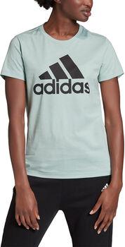 adidas Must Haves Badge of Sport T-Shirt Damen Grün