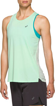 Asics RACE Tank Top Damen Türkis
