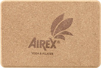 AIREX Yoga Eco Cork Block Braun