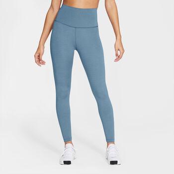 Nike Yoga 7/8 Tights Damen Blau